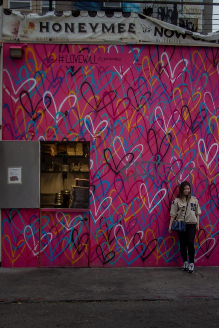 Mural przy Venice Beach