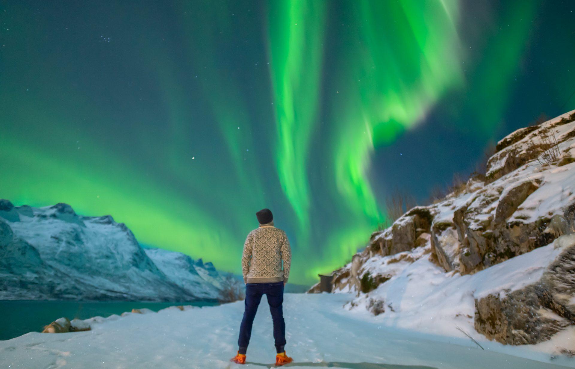 obserwacja zorzy polarnej